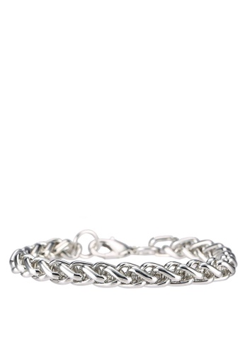ALDO silver Cherano Bangle AL087AC0RPX4MY_1