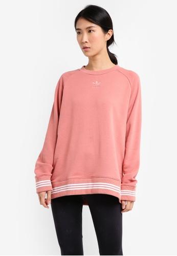 adidas pink adidas originals sweatshirt AD372AA0SS38MY_1