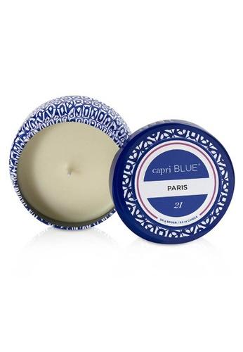 Capri Blue CAPRI BLUE - 旅行錫製香氛蠟燭 - 巴黎 Printed Travel Tin Candle - Paris 241g/8.5oz 86D93BE51D57A8GS_1
