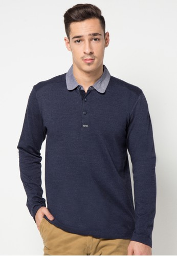 Long Sleeve Polo With Button