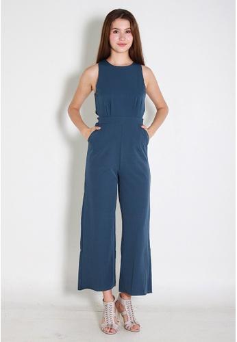Leline Style blue Rylie Romper LE802AA0FJX0SG_1