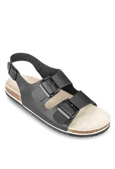 Double Strap Sling Back Sandals
