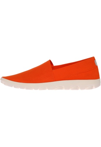 paperplanes orange SNRD-706 Women Fashion Ultralight Slip-Ons Driving Shoes PA110SH45PACHK_1