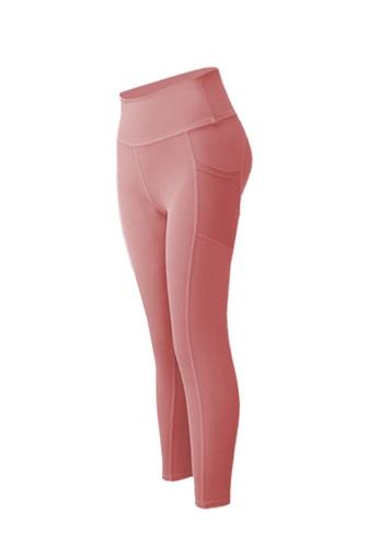 Sunnydaysweety pink High-Waist Stretch Tights A081022PI 49E7DAA7EEC4CEGS_1