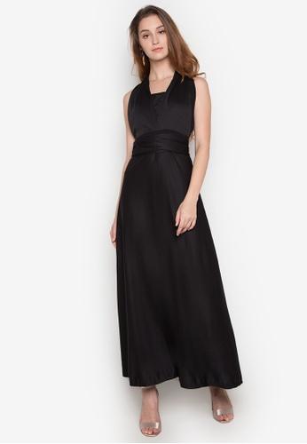 Chictees black Infinity Dress CH524AA0K3T3PH_1