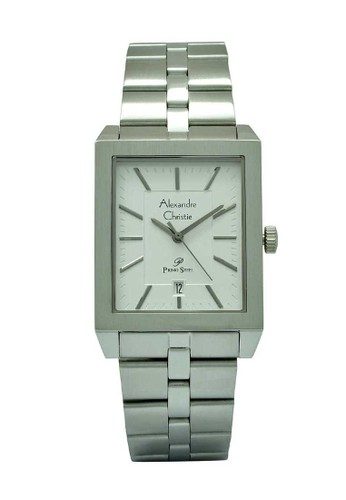 Alexandre Christie silver Alexandre Christie Jam Tangan Pria - Silver - Stainless Steel - 1020 MDBSSSL F5033ACE527267GS_1
