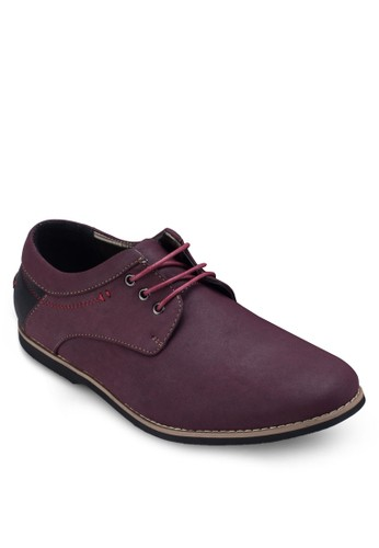 拼接德比esprit tw休閒鞋, 鞋, 鞋