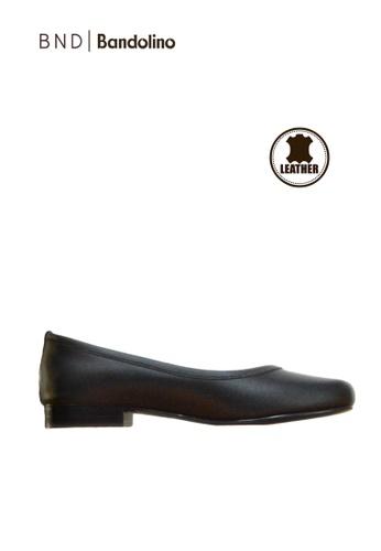 BANDOLINO black Audrey Flats BA161SH32NFBPH_1