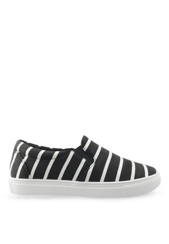 Footspot black FOOTSPOT – Trendy pattern Slip-on Sneakers FO296SH93DDEHK_1