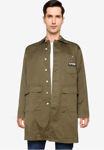 Lee green Long Sleeve Jacket AC6C8AA784183FGS_1