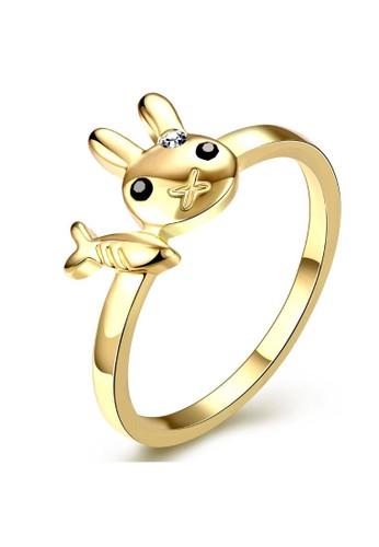 Tiaria yellow Tiaria Popular Party Ring Gold Coated Aksesoris Perhiasan Cincin AKR075-A-8--K09 DC86BACE531BE1GS_1