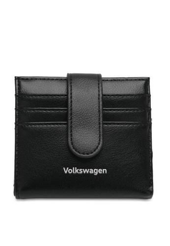 Volkswagen black Faux Leather Mini Wallet 10FB1AC5E73AD8GS_1