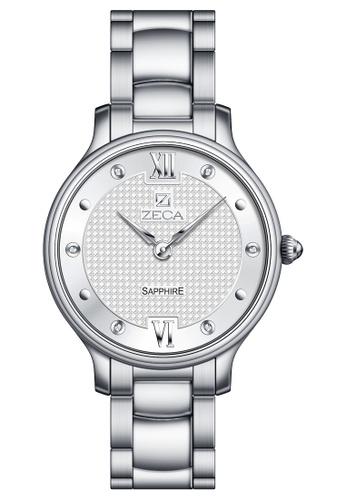 ZECA silver Zeca Watches Couple Ladies Fashion - 307L Silver ZE260AC91SKQSG_1