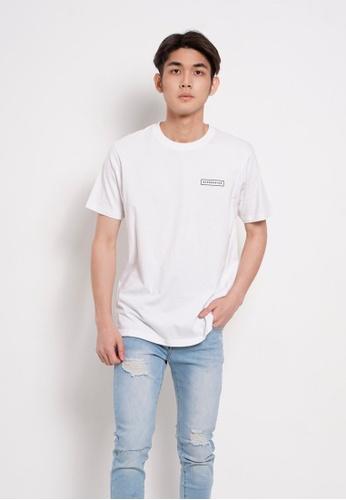 Hi Style white Graphic Short Sleeve T-Shirt AE61DAA11E30B8GS_1