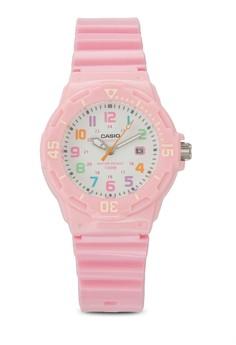 Casio LRW-200H-4B2VDF 彩色數字女性手錶