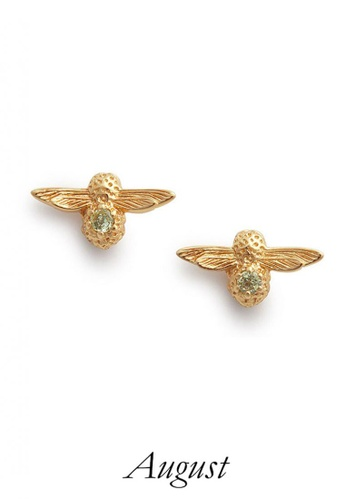 Olivia Burton gold Olivia Burton CELEBRATION STONES  EARRINGS (OBJAME102) 0EFDDAC60C9AD8GS_1