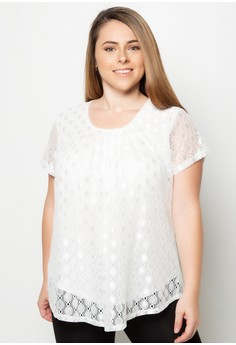 Short Sleeves Plus Size Tops