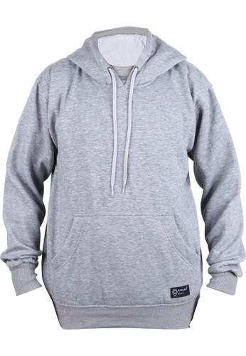 Catenzo grey Capilari- Hoodie Jacket Grey XWR 101 42710AADE77888GS_1