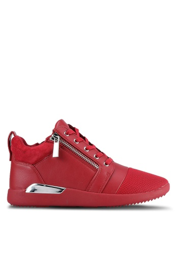 ALDO red Naven Lace Up Shoes AL087SH0RYH9MY_1