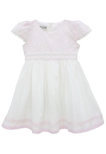 FIYORA pink Alona Cotton Girl Dress 1D53AKAF4C05E5GS_1