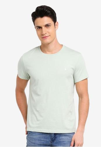 Jack Wills green Sandleford T-Shirt 44A47AA93C133BGS_1