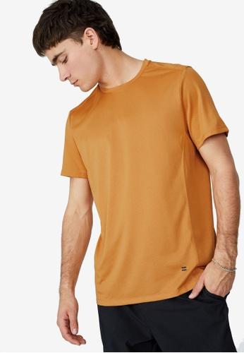 Cotton On 金色 Active Tech T-襯衫 32DDAAA8FEE813GS_1