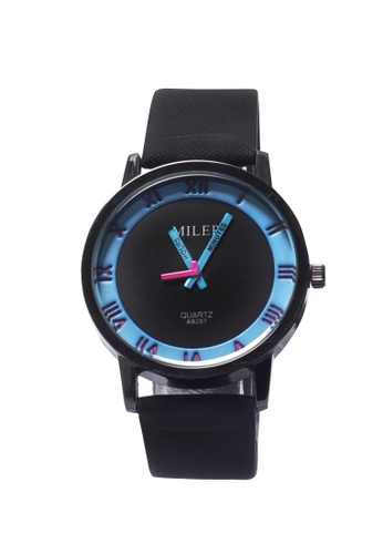Stylebox blue Miler 1020 Roman Style Leather Watch E9881AC61858C9GS_1