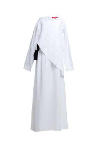 Cressida Ladies white Mirtha Dress C483DKA03C937BGS_1
