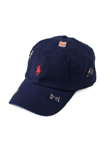 Polo Ralph Lauren navy Cls Sprt Cap-Hat 9983DAC18FF5FCGS_1