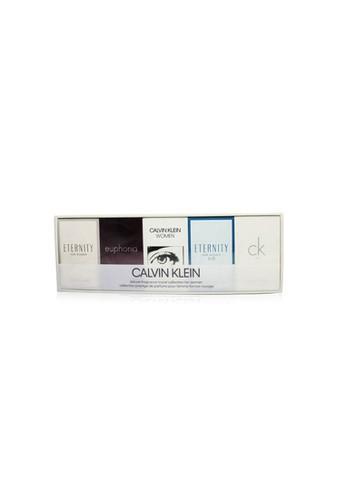 Calvin Klein CALVIN KLEIN - Miniature Coffret: Eternity Edp 5ml + Euphoria EDP 4ml + Ck Women EDP 5ml + Eternity Air EDP 5ml + Ck One EDT 10ml 5pcs 6AA71BE6A0A3C7GS_1
