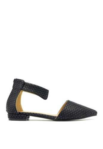 Carlo Rino black Carlo Rino 33320-A007-08 Pointed Toe Flats (Black) 666FESHA8D7F50GS_1