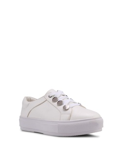 Carlton London Sneakers With Metallic Detail Php 3,499.00. Sizes 36 37 38  39 40