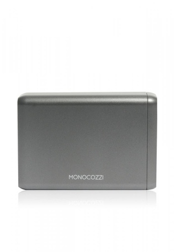 Monocozzi grey Moxie - 75W Power Cuboid (Supports USB-C MacBook Pro and the iPhone USB-C Fast Charge) 3D426AC5A9689DGS_1