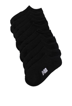 0266e1ed55505 New Balance black Unisex Invisible Socks 5 Pack BDED1AC3D7A09BGS_1