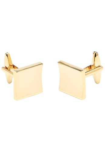 Buckle gold Square Gold Cufflinks AB95EACE000CF0GS_1