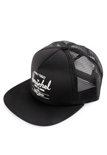 Herschel black Whaler Mesh Cap 64D87ACA87B2F7GS_1