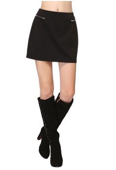 Jode Zipper Skirt
