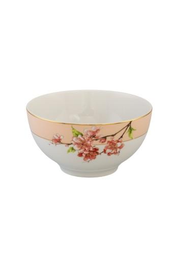 Minh Long I white Pink Floral: Porcelain Soup Bowl (23cm) 4B55EHL652C133GS_1