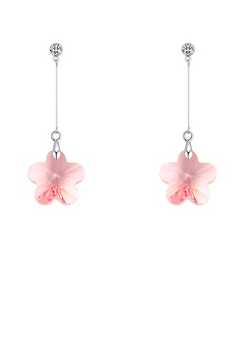 Urban Outlier pink Crystal Earrings 131497 8EC61ACF6210D4GS_1