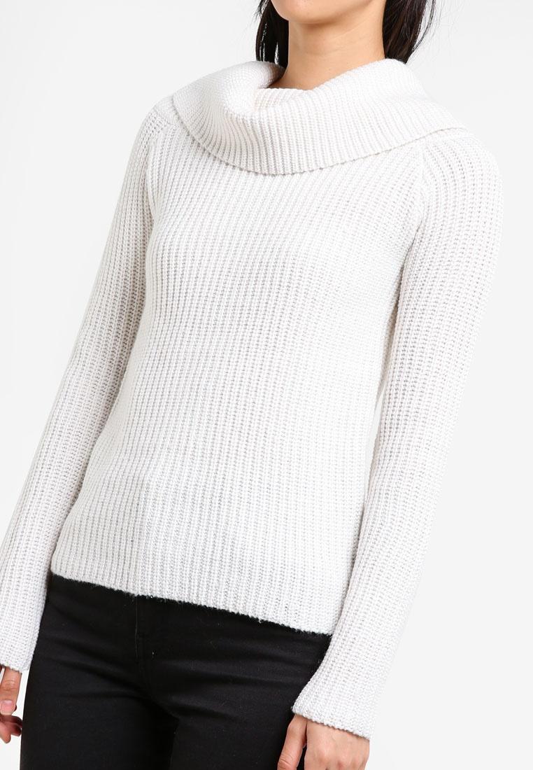 Knit Ivory Bardot Bardot Top Zipper Zipper vtRwfn