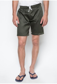 RE14 Men's Tailored Shorts in Green