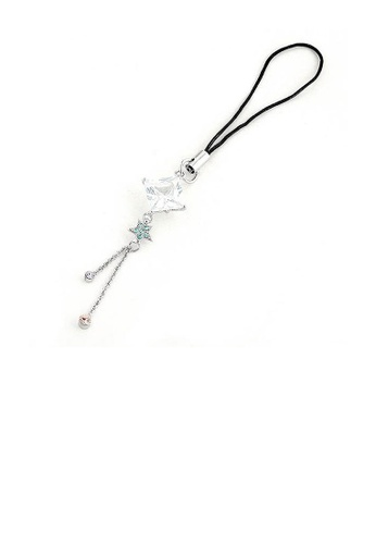 Glamorousky silver Black Strap with Shining Star in Multi Color Austrian Element Crystals DB02FAC3504B95GS_1