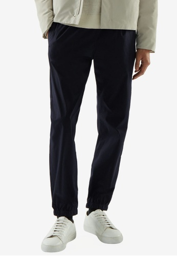 COS black Relaxed-Fit Cuffed Pants 1B89DAAF22C73EGS_1