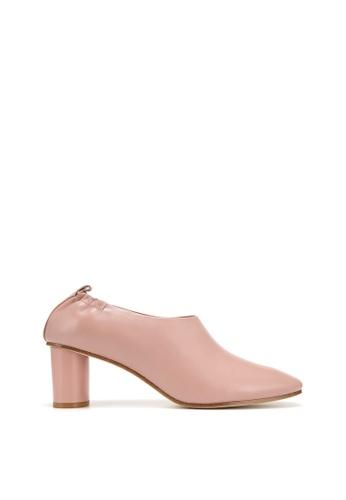 RABEANCO 粉紅色 RABEANCO JUNTA 中跟短靴 - 裸粉色 41DADSHB785B6CGS_1