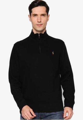 Polo Ralph Lauren black Knit Estate Sweater 248E0AAE82519CGS_1