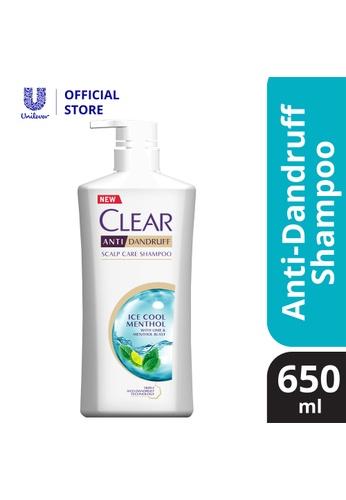 Clear Clear Ice Cool Menthol Anti-Dandruff Shampoo 650 ml AA172ESDFAD215GS_1