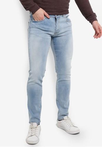 Electro Denim Lab blue Calypso Slim Tapered Jeans 959C8AA024F043GS_1