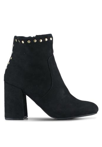 Dorothy Perkins 黑色 Black Aldous Boots DO816SH0ST0OMY_1