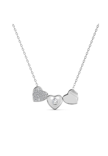 Her Jewellery Tri Darling Pendant -  Made with premium grade crystals from Austria HE210AC72ECHSG_1