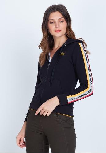 Fubu Queens multi Terry Reversible Jacket with Hood 0DFA2AAD063F2EGS_1